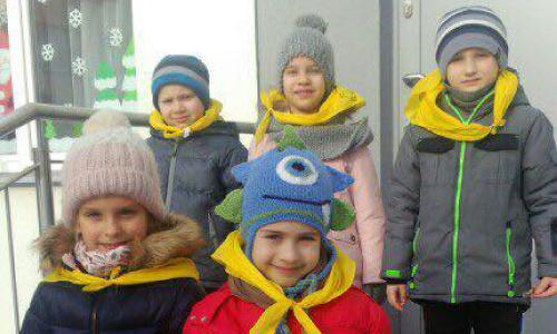 Zimowe spacery <br />Casper w Lubartowie