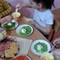 zajęcia kulinarne, przedszkole Lubartów, Casper